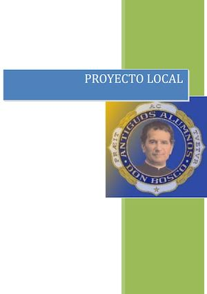 Proyecto Local 2016 2017