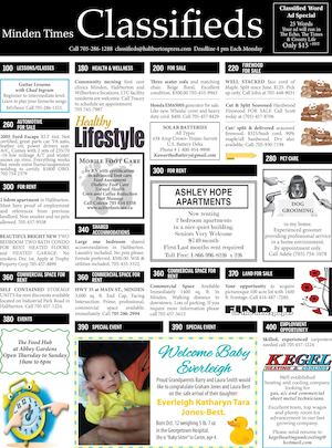 Classifieds November 3, 2016