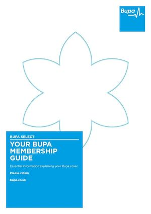 Bupa Select Membership Guide