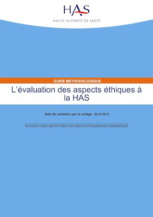 Evaluation Des Aspects Ethique A La Has3