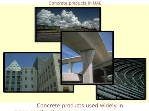 Concrete Products in UAE