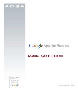 Manual Google Apps