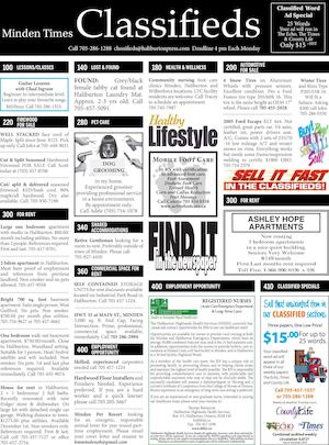 Classifieds November 10, 2016