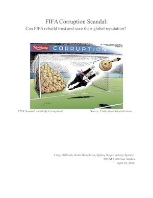 Case Study Analysis of FIFA Scandal