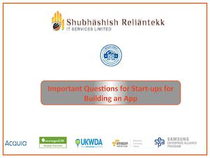 Important Questions For Start Ups For Building An App1