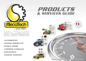 MécaTech® Products & services guide 2016 English