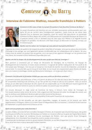 Interview Fabienne Mathias