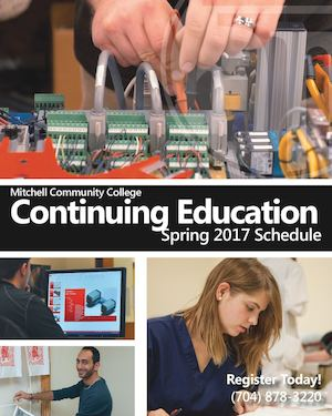 Continuing Education Schedule Spring 2017