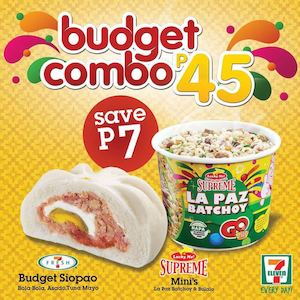 Pair Any Budget Siopao With Lucky Me For Only P45 At Your Nearest 7 Eleven Store 87508