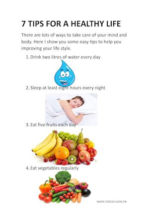 7 TIPS FOR A HEALTHY LIFE