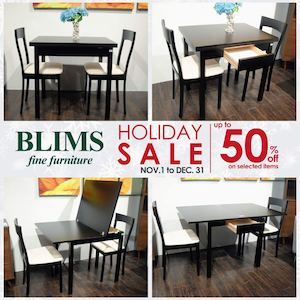 Enjoy Up To 50 Off With The Holiday Sale At Blims Furniture Valid Until December 31 2016 87519