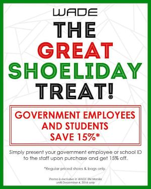 Government Employees Students Can Get 15 Off At Wade Valid Until December 4 2016 87525