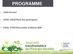JTED 2016 , Les pitchs