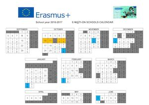 Emotion School Calendar Portugal