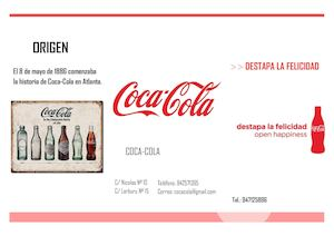 Coca Cola Folleto