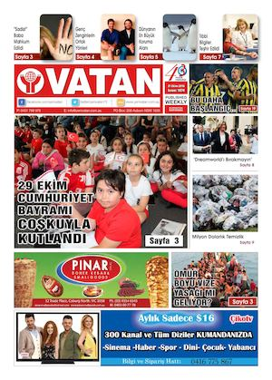 Calameo Yeni Vatan Turkish Newspaper Issue No 1874