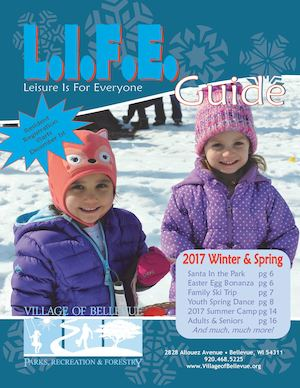 Village of Bellevue LIFE Guide Winter Spring 2017
