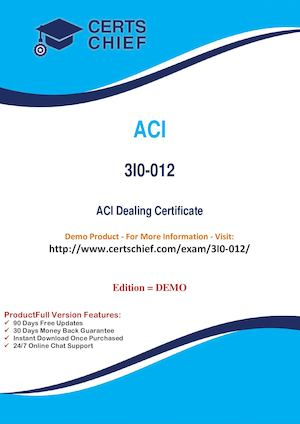 3I0 012 Latest Certification Practice Test