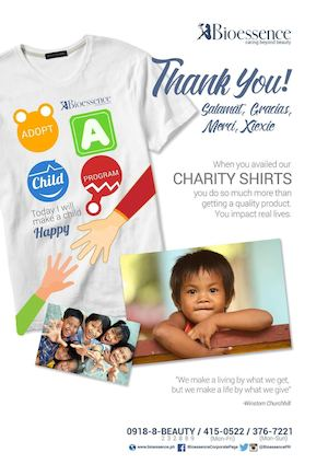 Avail Charity Shirts At Bioessence To Make A Child From Gentle Hands Or Home Of Refuge Happy 87839