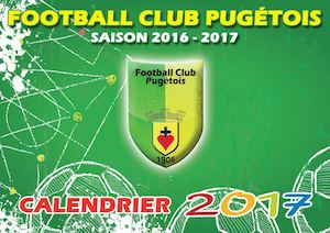 Calendrier 2017 FC Pugetois