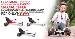 Get The Hoverkart03 Hoverboard Package For Only P9999 From Cost U Less While Stocks Last 87858