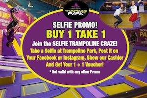 Join The Selfie Trampoline Craze With Trampoline Parks Buy 1 Take 1 Selfie Promo 87875