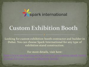 Custom Exhibition Booth