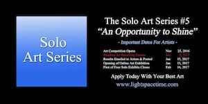 Solo Art Series #5 2016 Art Comp Event Poster