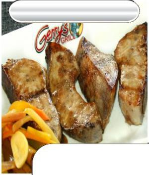 Order Char Grilled Blue Marlin Belly For Only P299 At Gerrys Grill Restaurant 87897