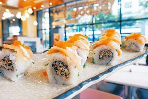 Make Your Week Brighter With A California Maki At Tokyo Bubble Tea Restaurant 87901