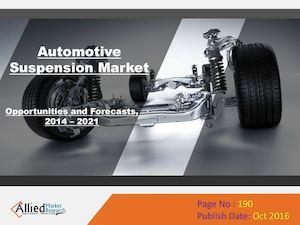 Automotive Suspension Market Share & Growth by 2022