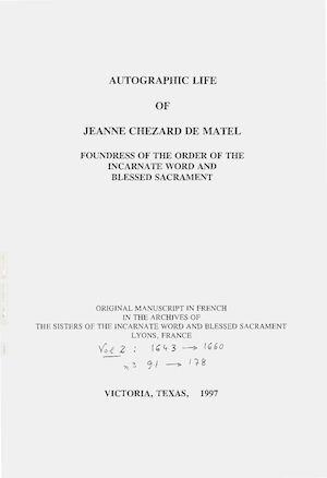Calaméo - The Writings Of Jeanne Chezard De Matel Autographic Life on examples of pardon request letters, sample prison letters, sample of victim impact letters,