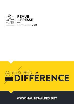 Calaméo Revue De Presse Hautes Alpes Novembre 2016