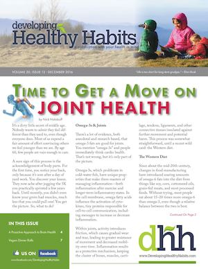 Developing Healthy Habits - December 2016