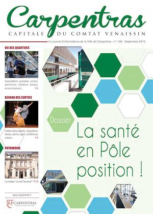 Carpentras Magazine - Septembre 2015 - #128