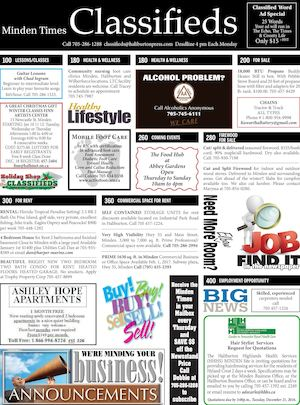 Classifieds December 15,2016