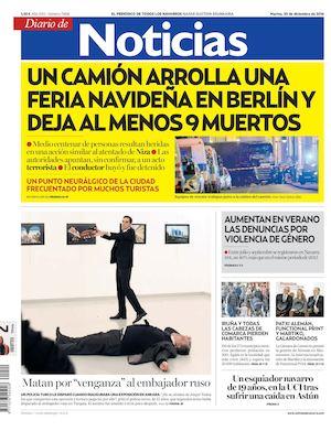 best loved c54ba 75338 Diario de Noticias 20161220
