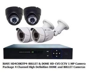 Get This Isafe Dome Bullet Cctv Package For P5999 From P9999 At Cost U Less 88389