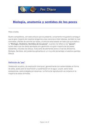 Calaméo - genética+-+Biología+,+anatomía+y+sentidos+de+los+peces