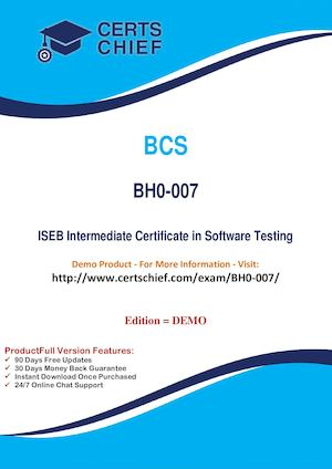 BH0 007 Certification Practice Test