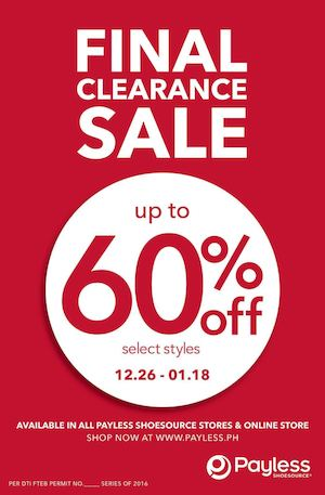 Final Clearance Sale With Up To 60 Off At Payless Shoesource Valid Until January 18 2016 88480
