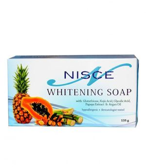 Get This 5 In 1 Whitening Soap For P175 Only From Nisce Skin N Face 88490