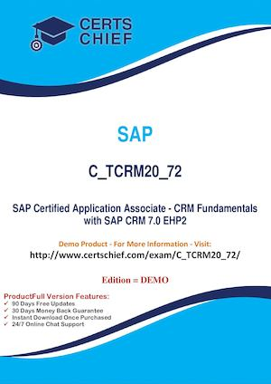 C TCRM20 72 Exam Real Questions