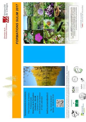 Programme Stages Naturalistes 2017