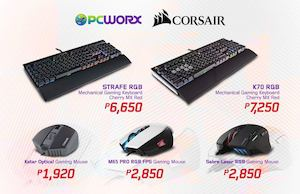 Level Up Your Gaming Experience With These Corsair Keyboard Mouse From Pcworx 88528
