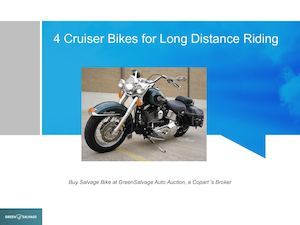 4 Cruiser Bikes for Long Distance Riding