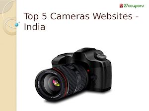 Top 5 Cameras Websites