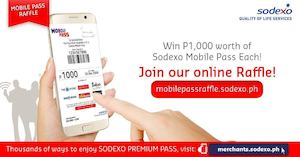 Be One Of The 12 Lucky Winners Of The New Sodexo Mobile Pass Worth P1000 88772