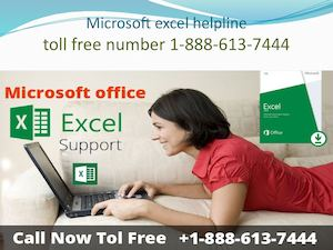 Microsoft office excel support | 1-888-613-7444