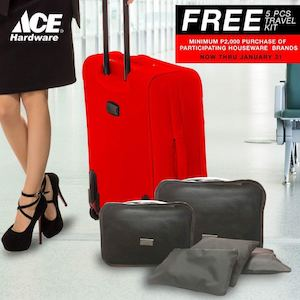 Get A Free 5 Piece Travel Kit With Minimum Purchase Of P2000 At Ace Hardware Until Jan 31 2017 88785